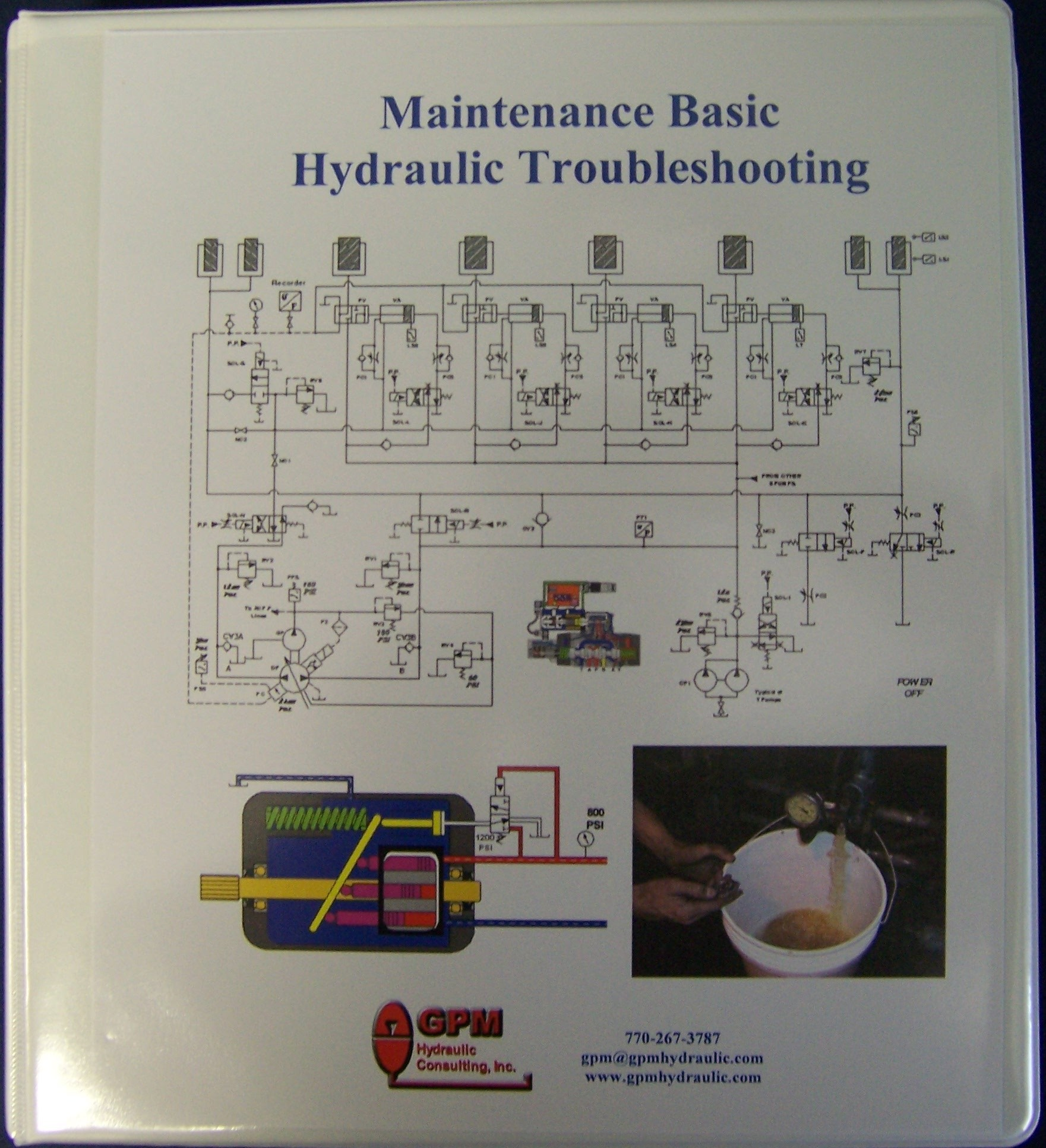 Maintenance basic hydraulic troubleshooting manual for Hydraulic motor selection guide